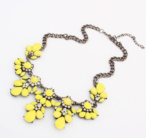 Stunning Floral Design, Crystal Necklace - Huge Range of Styles - Nonpareil Jewelry  - 9