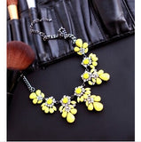 Stunning Floral Design, Crystal Necklace - Huge Range of Styles - Nonpareil Jewelry  - 1