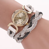 Stunning Crystal studded Women's Wristwatch - Nonpareil Jewelry  - 1