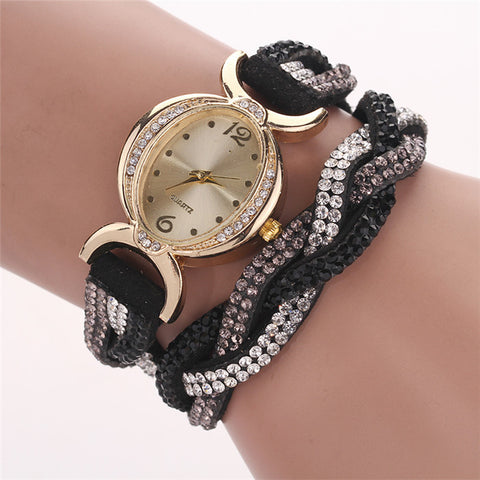 Stunning Crystal studded Women's Wristwatch - Nonpareil Jewelry  - 10