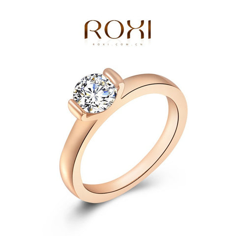 Women Engagement Austrian Crystal 24K Rose Gold Filled Wedding Bride Jewelry - Nonpareil Jewelry