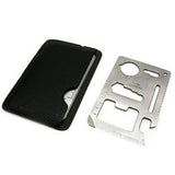 Multi Tools 11 in 1 Multifunction Military Survival Credit Card Multitool - Nonpareil Jewelry  - 3