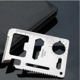 Multi Tools 11 in 1 Multifunction Military Survival Credit Card Multitool - Nonpareil Jewelry  - 2