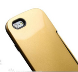 New Card Slot Hard Rubber Case for iPhone