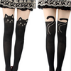 "Cute Women Cat Tail Gypsy Mock Knee High Hosiery Pantyhose Tattoo Tights "" FREE SHIPPING "" - More Stuff I Like"