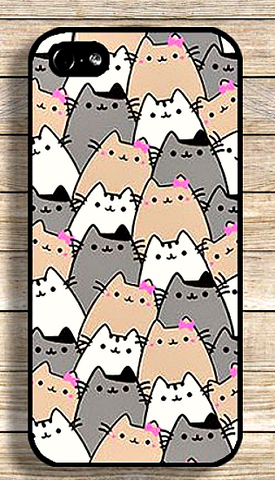 "Cats Cute Funny Designs Skin Case Cover For iPhone 5 5S 5C 6 6s 6s Plus "" FREE SHIPPING "" - More Stuff I Like"