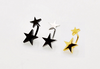 "1 PC Titanium Anodized Stainless Steel Double Star Ear Stud Earring Helix Ear Piercing "" FREE SHIPPING "" - More Stuff I Like"