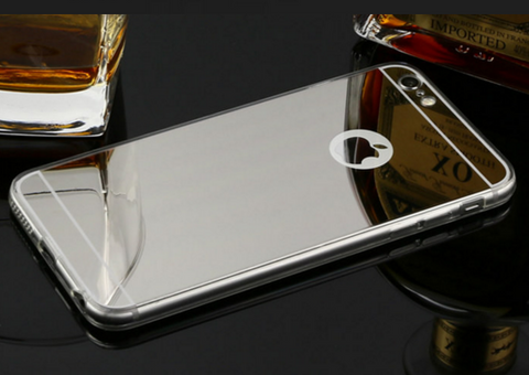 "Hot! Luxury Mirror Electroplating Soft Clear TPU Cases For iphone 6 / 6S and 6 Plus ""FREE SHIPPING"" - More Stuff I Like"