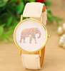 "New Fashion Elephant Printing Women Dress Watch Stylish Casual Quartz Watch "" FREE SHIPPING "" - More Stuff I Like"