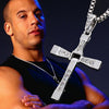 Fast and Furious 7 Fine Jewelry Cross Necklace with Pendant for Men