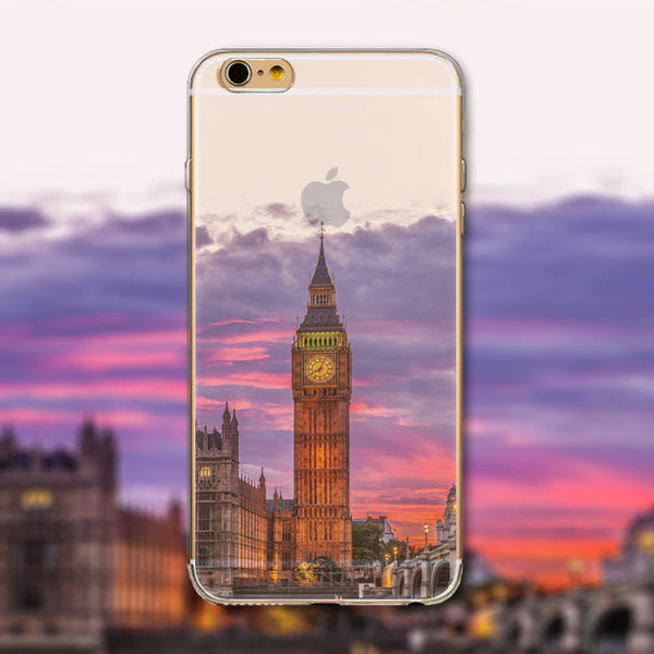 "London's Big Ben Phone Case Cover for iPhone 4 4s 5 5s 5c 6 6s 6Plus 6s Plus Transparent Soft Silicone Back Case Cover ""Free Shipping"" - More Stuff I Like"