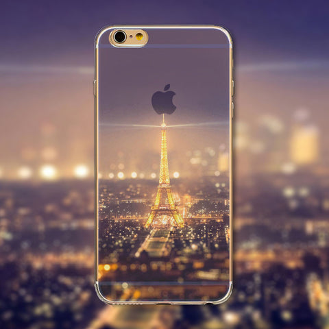 "Beautiful Eiffel Tower Phone Case Cover for iPhone 4 4s 5 5s 5c 6 6s 6Plus 6s Plus Transparent Soft Silicone Back Case Cover ""FREE SHIPPING"" - More Stuff I Like"