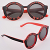 "CHIC RETRO House of Holland Stripes Polka Dots Cross My Heart Sunglasses lenses sun glasses "" FREE SHIPPING "" - More Stuff I Like"