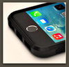 BLACK Hybrid Shockproof Hard&Soft Rugged iPhone Case