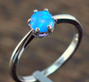 "High Quality Blue Pink Fire Opal 925 Sterling Silver Jewelry "" FREE SHIPPING "" - More Stuff I Like"