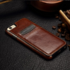 Luxury Leather Wallet Card Back Case Cover For iPhone 6 / 6S  / 6S Plus