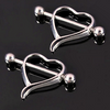 "Love Heart Nipple Bar Ring Charm Surgical Steel Navel Ring Body Piercing "" FREE SHIPPING "" - More Stuff I Like"