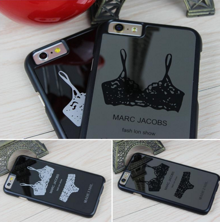 "Sexy Mirror Case for iPhone 6s, 6s Plus Hard Case with Lace Bra Top Sexy Marc Jacobs "" FREE SHIPPING "" - More Stuff I Like"