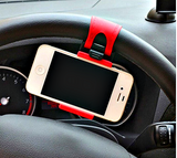 "Universal Car Steering Wheel Mobile Phone Holder Elastic Design Mobile Phone Holder Stand For Smart Phone GPS MP4 PDA    "" FREE SHIPPING "" - More Stuff I Like"