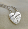 "2Pc/Set Mother Daughter Necklace Heart Love Mom Necklaces & Pendants "" FREE SHIPPING "" - More Stuff I Like"