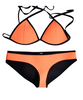 Triangle Neoprene Bikini Swimwear