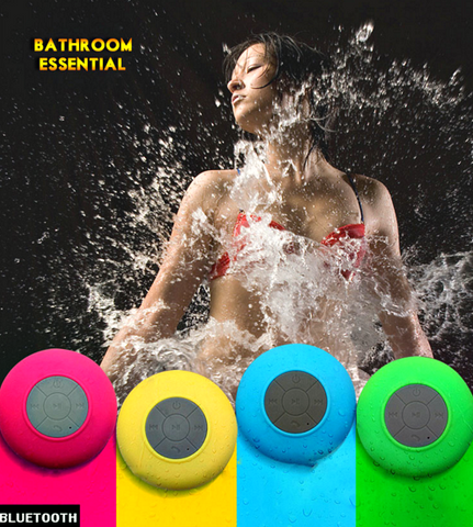 "Portable Waterproof Wireless Bluetooth Speaker with Subwoofer for Shower, Car, Etc. "" FREE SHIPPING "" - More Stuff I Like"