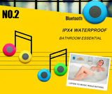 Portable Waterproof Wireless Bluetooth Speaker with Subwoofer for Shower, Car, Etc.