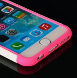 "Hot Pink iPhone 6 4.7"" Hard & Soft Rubber Hybrid Armor Impact Defender Skin Case Cover "" FREE SHIPPING "" - More Stuff I Like"