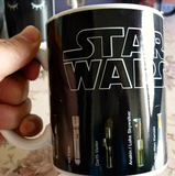 Star Wars Mug Lightsaber Heat Reveal Mug