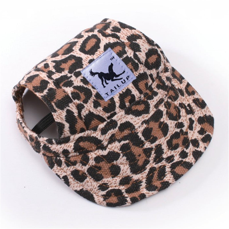 5571628e5f3 ... Cutie Dog Hat With Ear Holes Baseball Cap For Small Pet Dog -10 Styles  ...