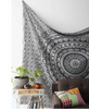 "Black and White Tapestries Elephant Mandala Hippie Tapestry Indian Traditional Throw Beach Throw Wall Art College Dorm Bohemian Wall Hanging Boho Twin Bedspread "" FREE SHIPPING "" - More Stuff I Like"