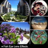 Universal Clip 3 in 1 Fish Eye Wide Angle Macro Fish eye Mobile Phone Lens For iPhone