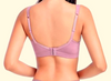 Women Push Up Wireless 3/4 Cup Bra