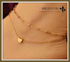"Sexy Gold Tone Love Heart Ankle Bracelet Double Layer Chain "" FREE SHIPPING "" - More Stuff I Like"