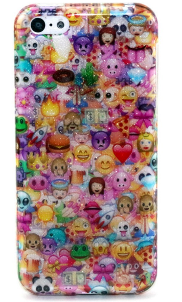 "3D Full wrap emoji case for iPhone 4 4s 5 5s 5c 6 6plus "" FREE SHIPPING "" - More Stuff I Like"
