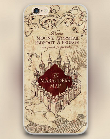 "The Marauder's map Harry Potter Design Cell Phone Cases for Apple iphone 4 4s 5 5c 5s 6 6s 6plus Hard Shell "" FREE SHIPPING "" - More Stuff I Like"