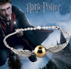 Harry Potter wing Bracelet, Golden Snitch Bracelets, Silver Tone Bracelet, The Golden Snitch Bracelets; harry potter jewelry - More Stuff I Like