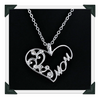"New Mom Charm Silver Crystal Heart Pendant Necklace Love Mother's Birthday Gifts ""FREE SHIPPING"" - More Stuff I Like"