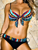 "Sexy Blue Padded Push-up Women's Bikini Swimwear Swimsuit Monokini Beach Wear size S M L XL XXL "" FREE SHIPPING "" - More Stuff I Like"