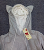 "Hoodies With Cuddle Kangaroo Pouch for Dog and Cats with Ears on Hood fun Sweatshirt ""FREE SHIPPING"""