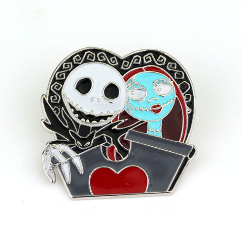 The Nightmare Before Christmas  Enamel Pin Brooch Jack Mickey Halloween Fashion Jewelry * Free Shipping*