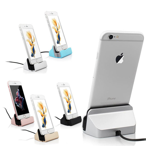USB Charger Docking Stand  iPhone with usb cable