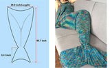 Mermaid Tail Envelopes Blanket