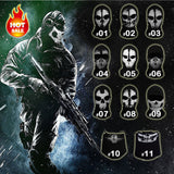 New Game Ghost Masks Paintball  Army Tactical Full Face Mask