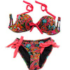 Secret Underwire Cups push up  Bikini