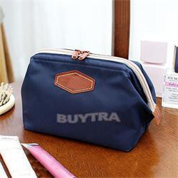 New House Keeping Fancy Travel Cosmetic Bag Makeup Case Zipper Easy Clean Mini Women Bags