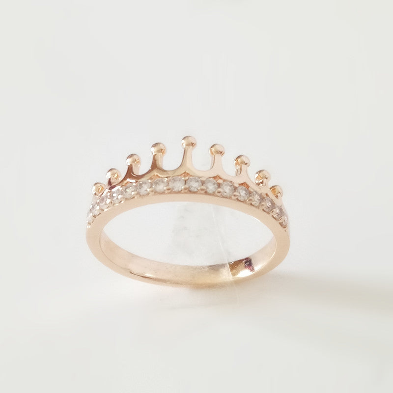 Beautiful Crown Shape Gold Rings | More Stuff I Like