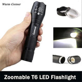 3500 Lumen 5 Modes CREE XM-L T6 LED Torch Powerful 18650 Flashlight