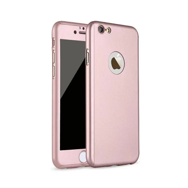 360 Degree Full Hybrid Acrylic Hard Case Cover For iPhone 6 | 6s | 6sPlus