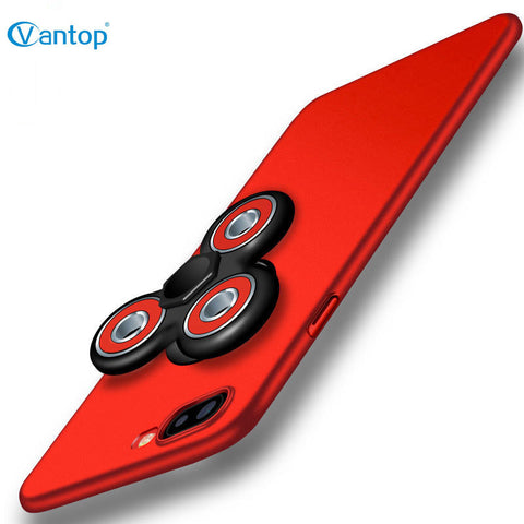 Tri Hand Fidget Spinner Phone Case For iPhone